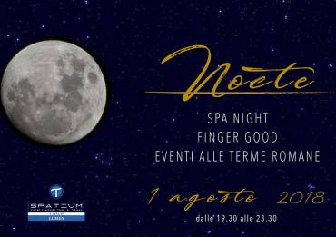 Spa Night alle Terme di Tabiano